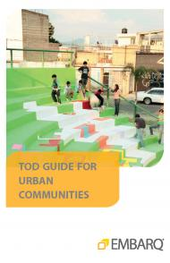Cover - TOD Guide Urban Communities in English
