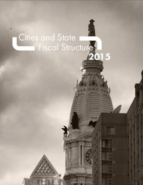 cover photo City fiscal structure