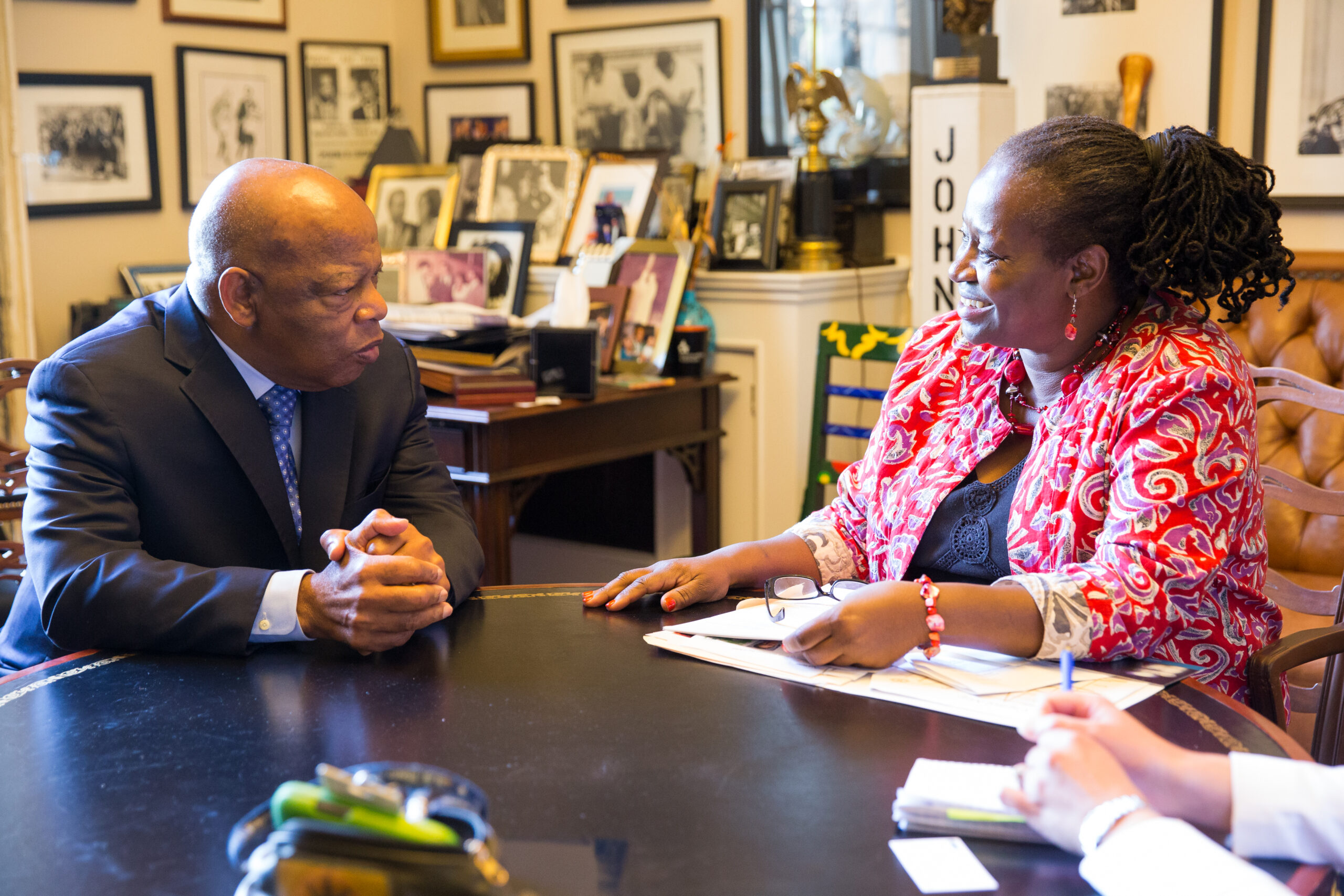 Meeting with Congressman John Lewis