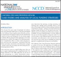 CCGPN Funding Strategies