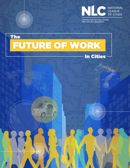 the future of work in cities report cover