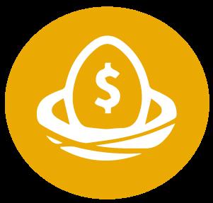 retirement egg icon