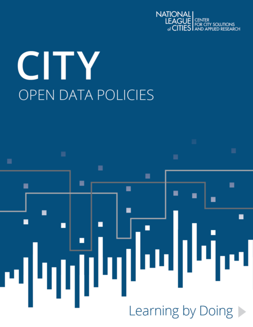 Open data report cover