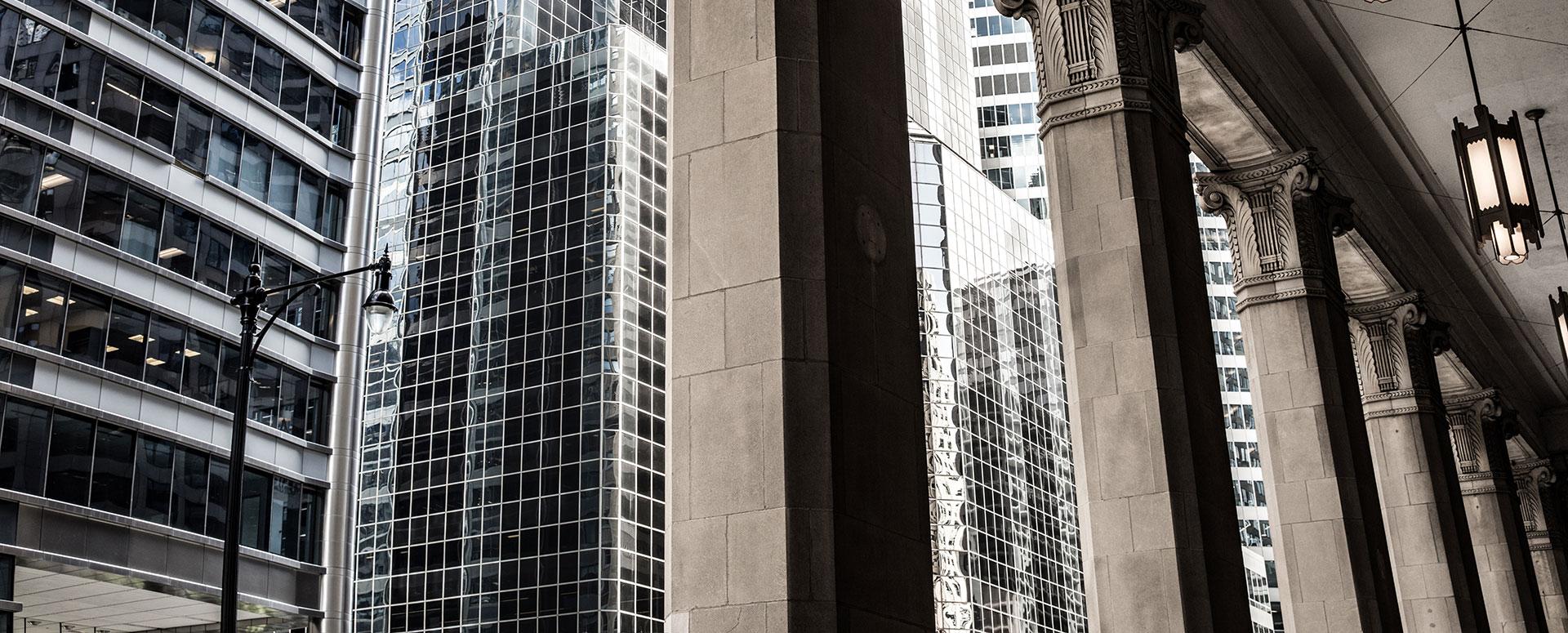 City building columns
