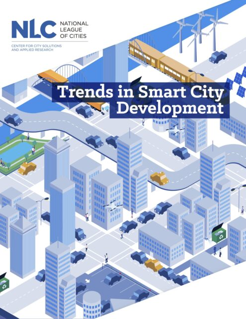 Smart City Development report cover image