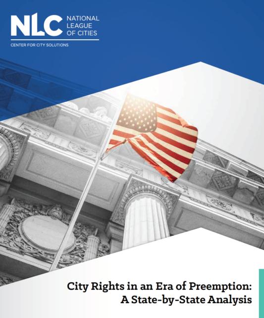 photo - Preemption report cover