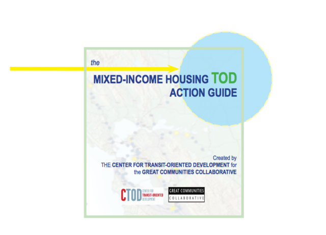 Cover - Mixed Income Housing TOD Action Guide