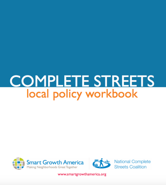 Cover - Complete Streets Local Policy Workbook