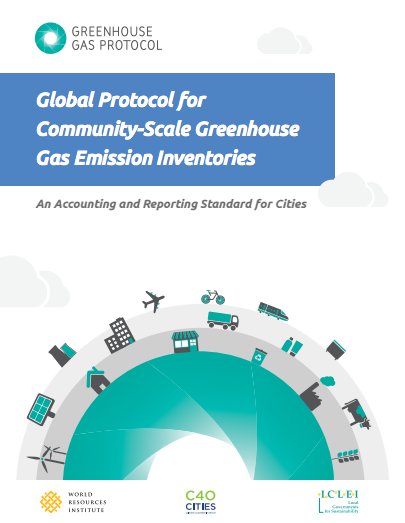 Cover - Global Protocol for Community-Scale Greenhouse Gas Emission Inventories