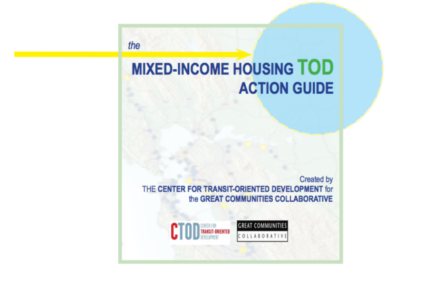 Cover - Guide Mixed Income TOD Action Guide