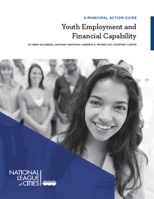 report cover - Youth Employment and Financial Capability: A Municipal Action Guide