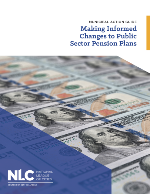 report cover - Making Informed Changes to Public Sector Pension Plans