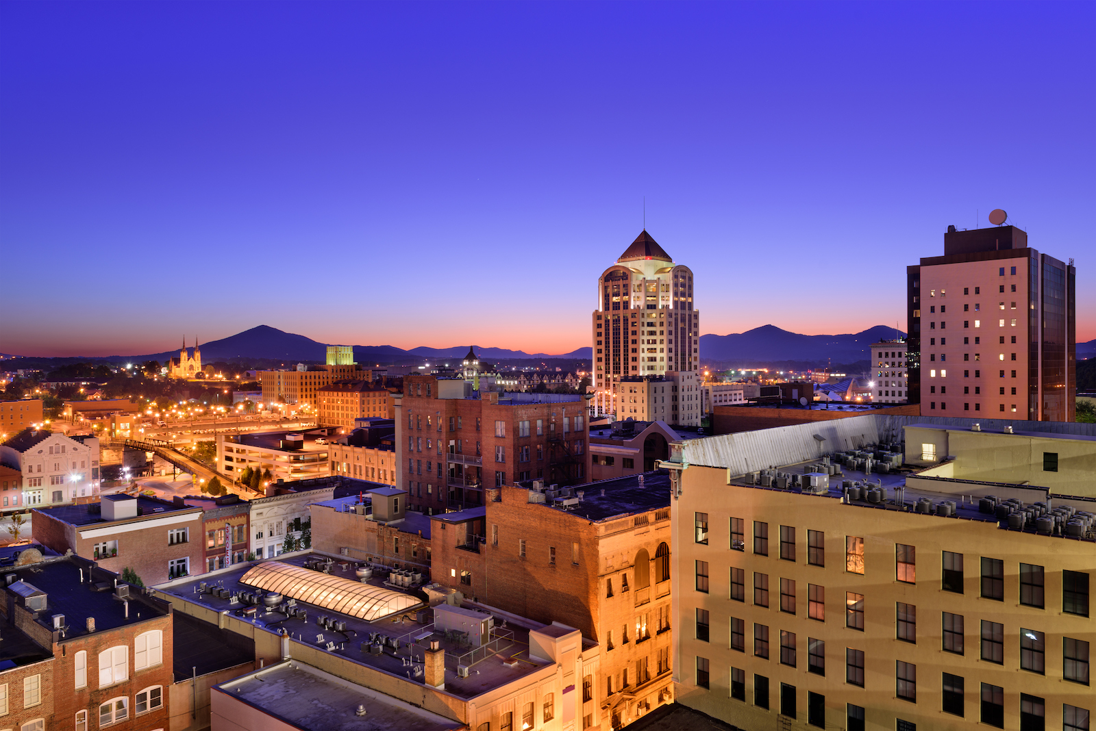 Roanoke, Virginia.