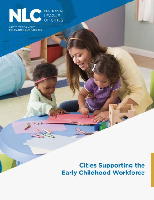 Cities Supporting the Early Childhood Workforce brief