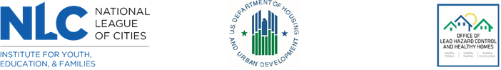 National League of Cities Department of Housing and Urban Development
