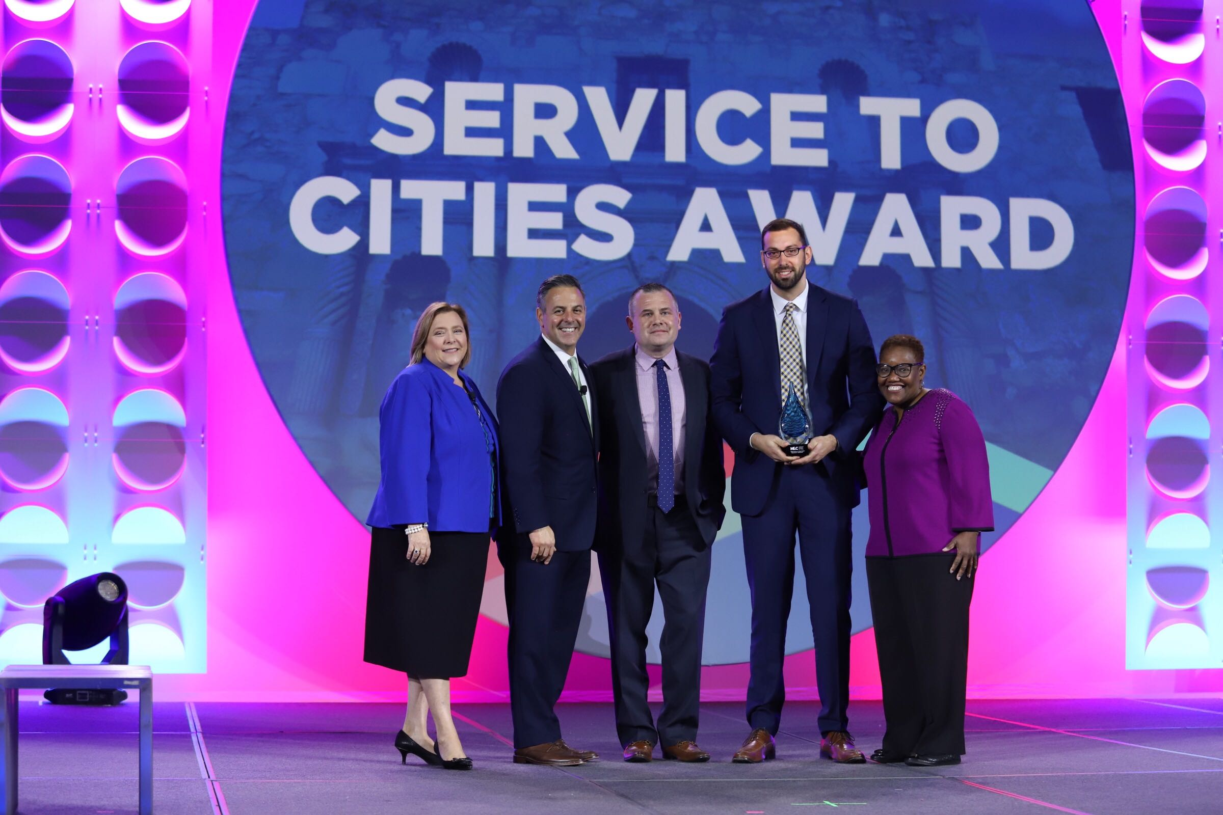 Service to Cities Award